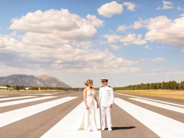 Ruben and Hannah's Wedding in Flagstaff, Arizona 32