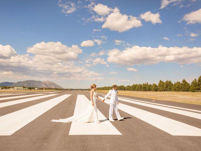 Ruben and Hannah's Wedding in Flagstaff, Arizona 33
