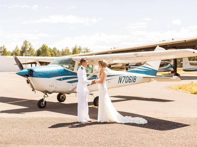Ruben and Hannah's Wedding in Flagstaff, Arizona 40