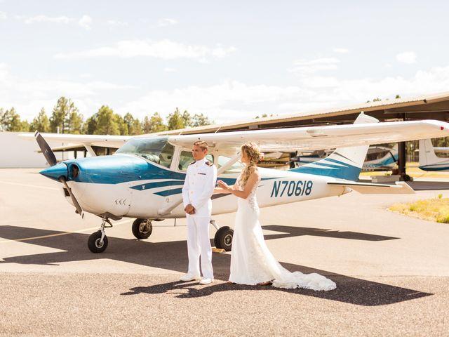 Ruben and Hannah's Wedding in Flagstaff, Arizona 41