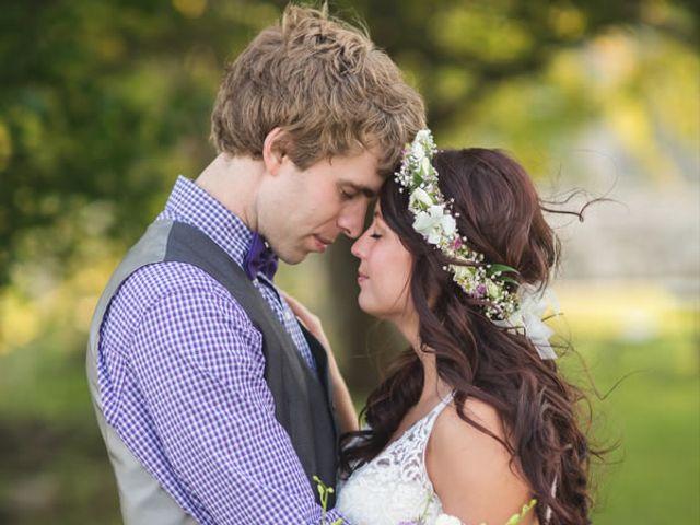The wedding of Joel and Alix
