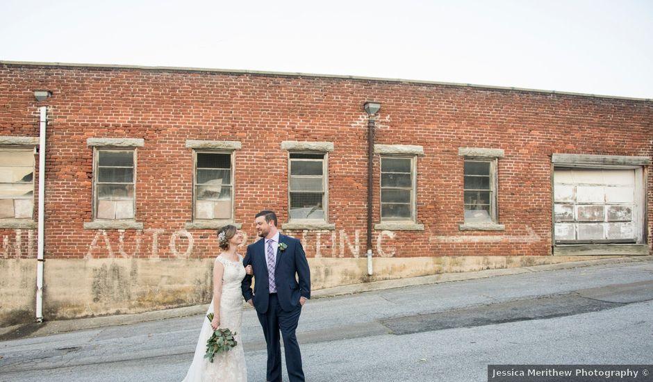 Ryan and Erica's Wedding in Hendersonville, North Carolina