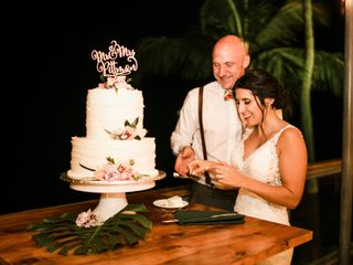 The wedding of Julia  and Derek