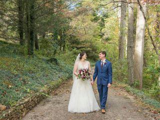 The wedding of April and David