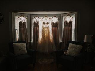The wedding of Chrystine and Ian 1