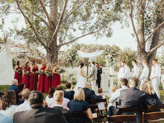 The wedding of Katie and Barrett