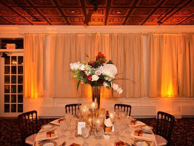 Michael and Christine's Wedding in Avon, New York 19