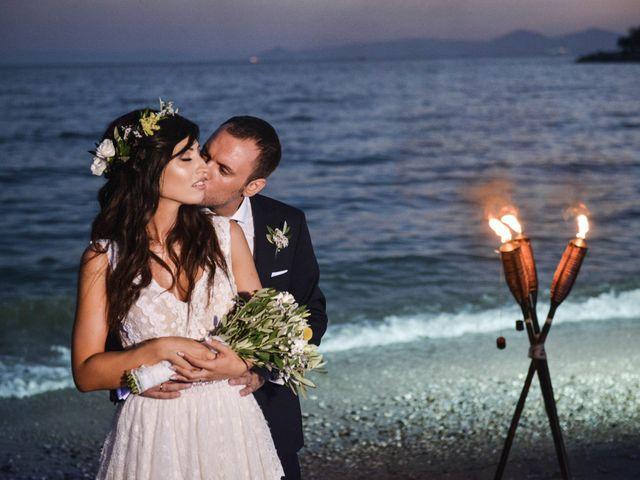 The wedding of Panos and Konstantina