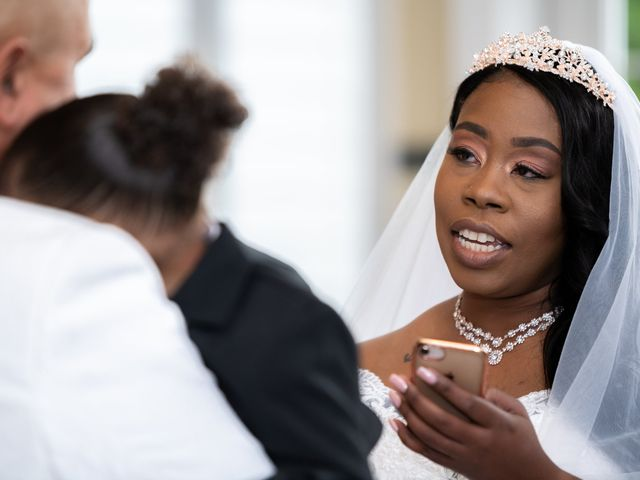Ceolices and Myesha's Wedding in Warren, Michigan 16