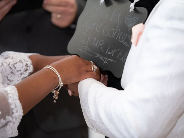 Ceolices and Myesha's Wedding in Warren, Michigan 17