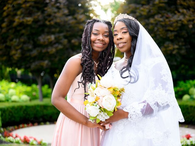 Ceolices and Myesha's Wedding in Warren, Michigan 22
