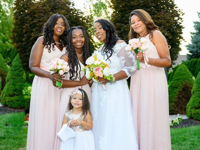 Ceolices and Myesha's Wedding in Warren, Michigan 24
