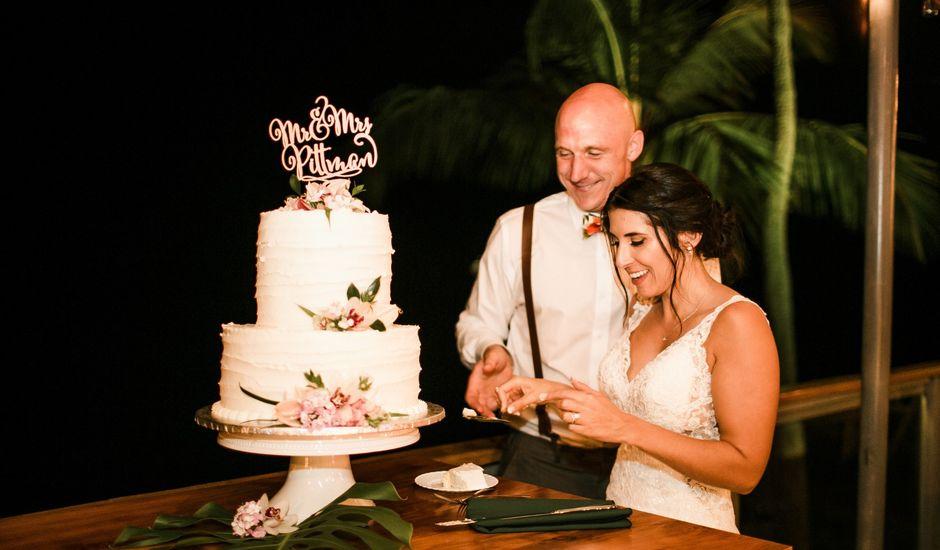 Derek  and Julia 's Wedding in Kailua Kona, Hawaii