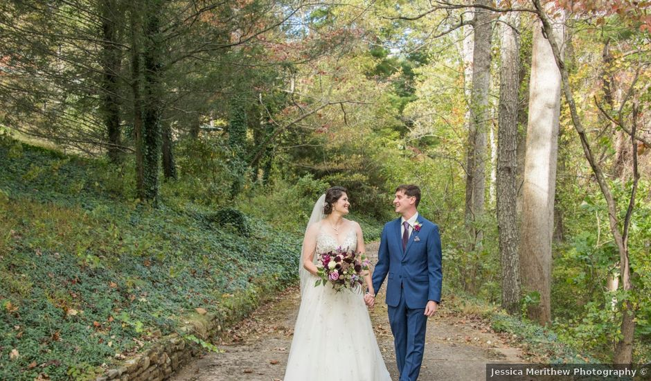 David and April's Wedding in Asheville, North Carolina