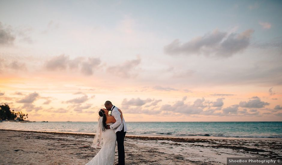 Taurean and Christina's Wedding in Punta Cana, Dominican Republic