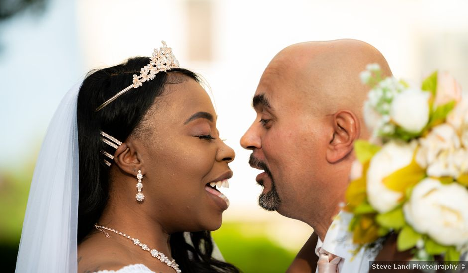 Ceolices and Myesha's Wedding in Warren, Michigan