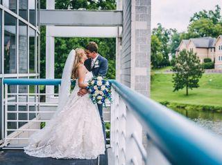 The wedding of Dawn and Daulton