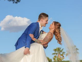 The wedding of Brittany and Justin