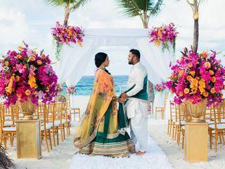 The wedding of Heena and Priyesh
