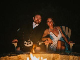 The wedding of Kayla and Chris 1