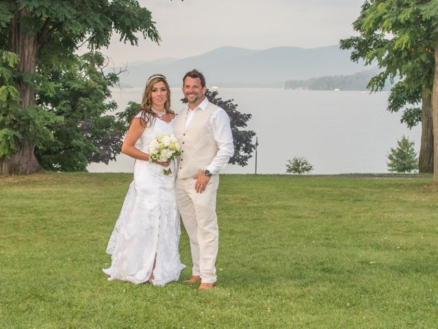 The wedding of Starr and Chris