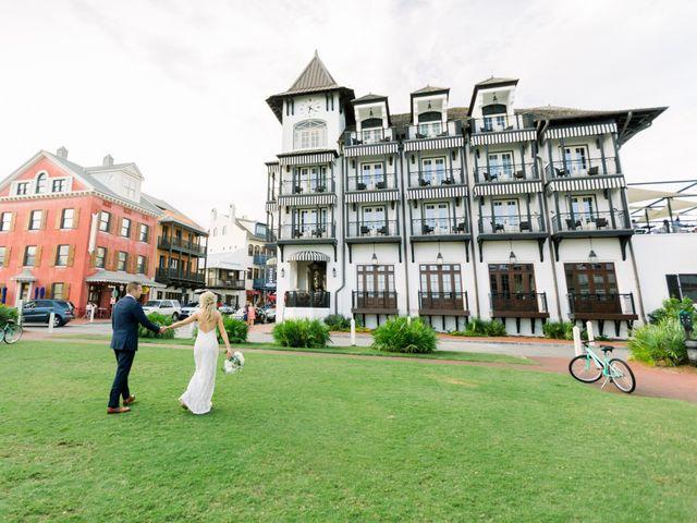 Josh and Kelly's Wedding in Rosemary Beach, Florida 50