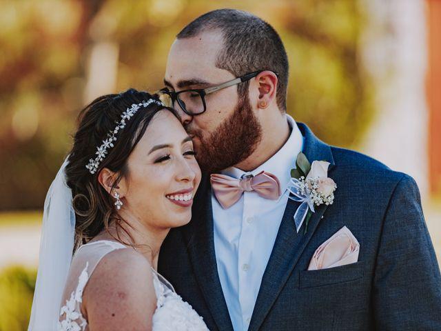 The wedding of Mathew and Karla