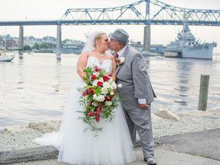 The wedding of Christine and Aram