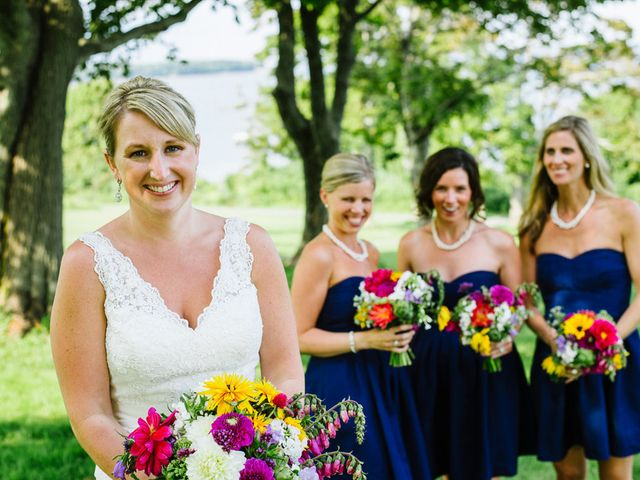 Courtney and Andrew's Wedding in Portland, Maine 4