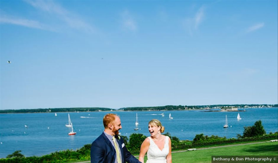 Courtney and Andrew's Wedding in Portland, Maine