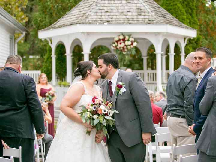 The wedding of Elyse and Richard
