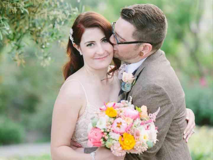 The wedding of Kyle and Kim