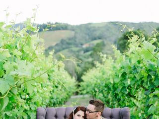 Kim and Kyle's Wedding in Geyserville, California 12