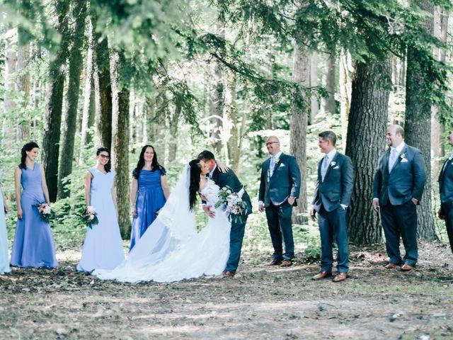 Titus and Melinda's Wedding in Cadillac, Michigan 2