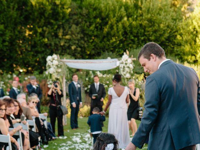 Joe and Abbye's Wedding in Calistoga, California 12