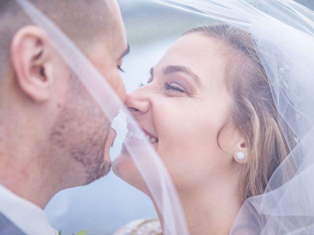 The wedding of Merissa and Vinnie