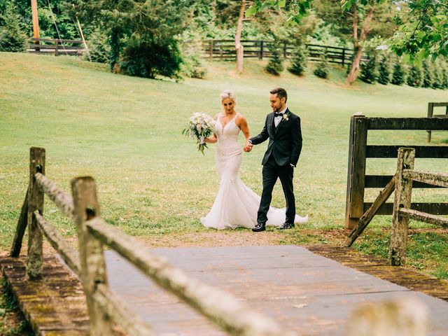 Scott and Nicole's Wedding in Knoxville, Tennessee 77