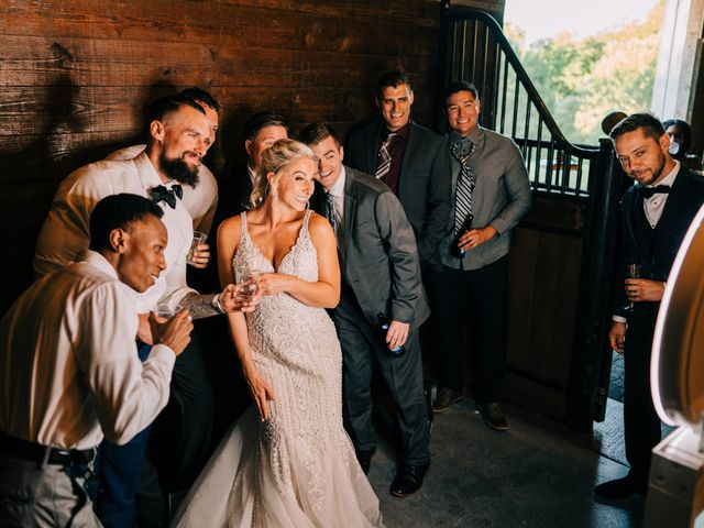 Scott and Nicole's Wedding in Knoxville, Tennessee 140