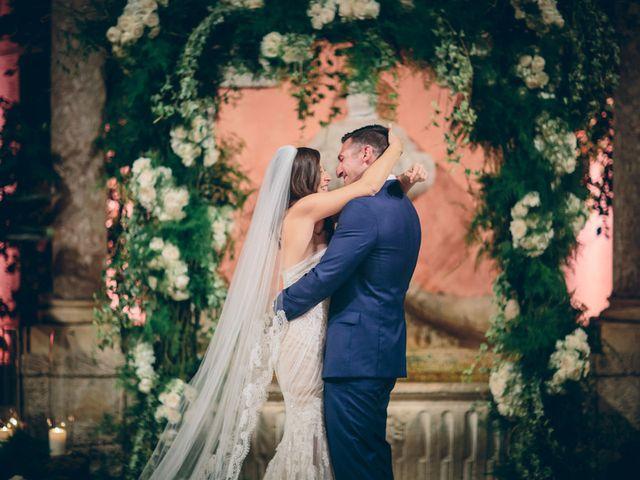The wedding of Jonathan and Christine