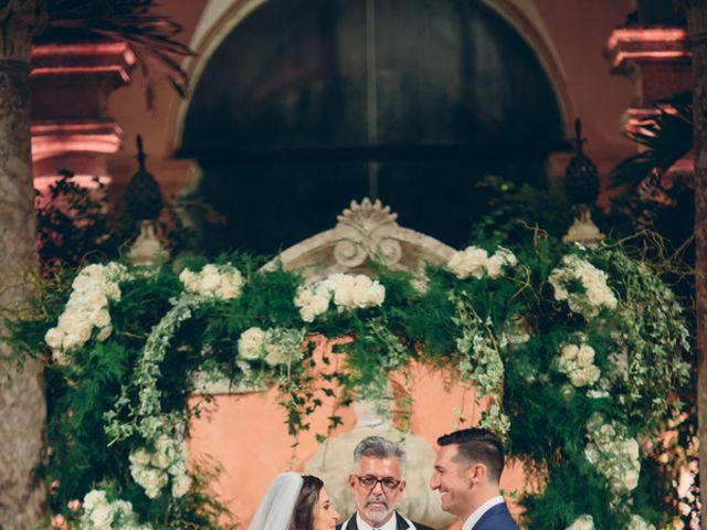 Christine and Jonathan's Wedding in Miami, Florida 12
