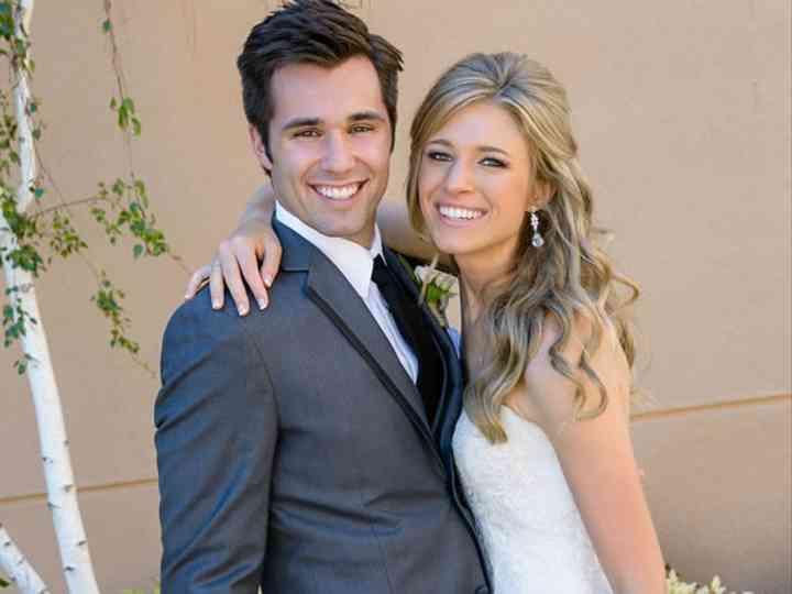 The wedding of Kyle and Christina