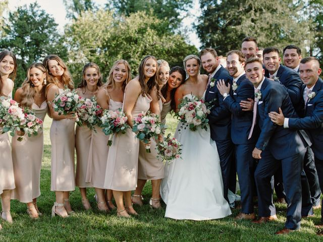 Jonathan and Claire's Wedding in Berryville, Virginia 29