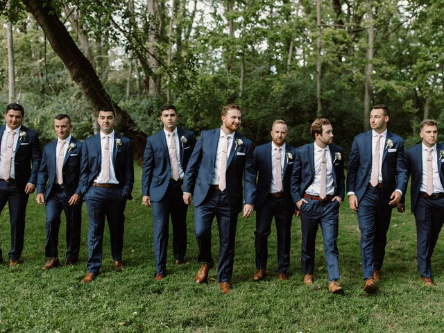 Jonathan and Claire's Wedding in Berryville, Virginia 50