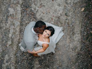 The wedding of Meredith and Nakware