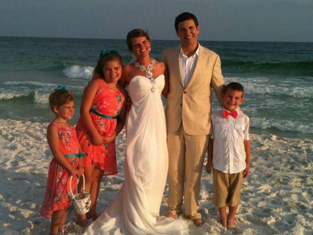 Austin and Natasha's Wedding in Destin, Florida 4