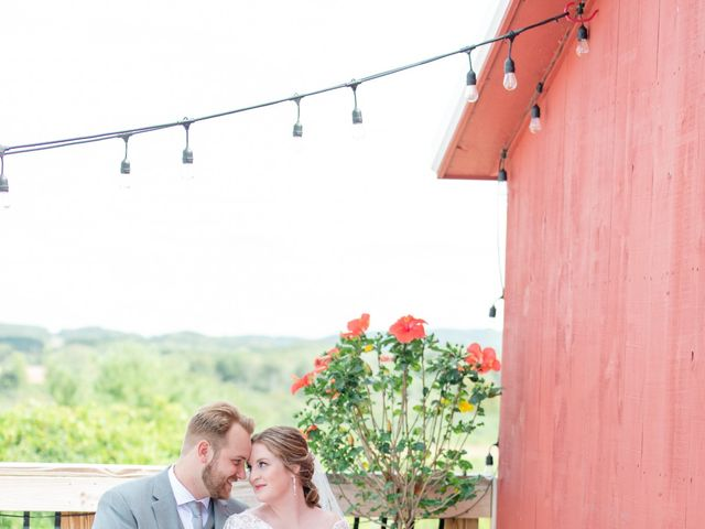 The wedding of Kara and Brett