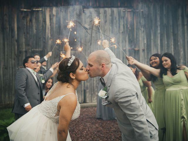 John and Dina's Wedding in Athol, New York 3
