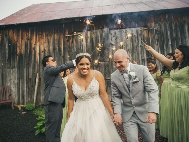 John and Dina's Wedding in Athol, New York 4
