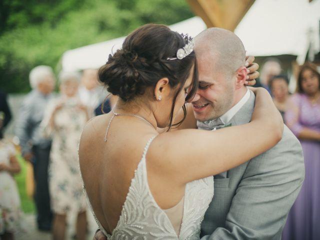 John and Dina's Wedding in Athol, New York 6