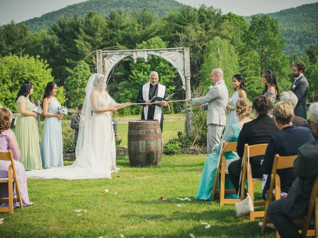 John and Dina's Wedding in Athol, New York 16